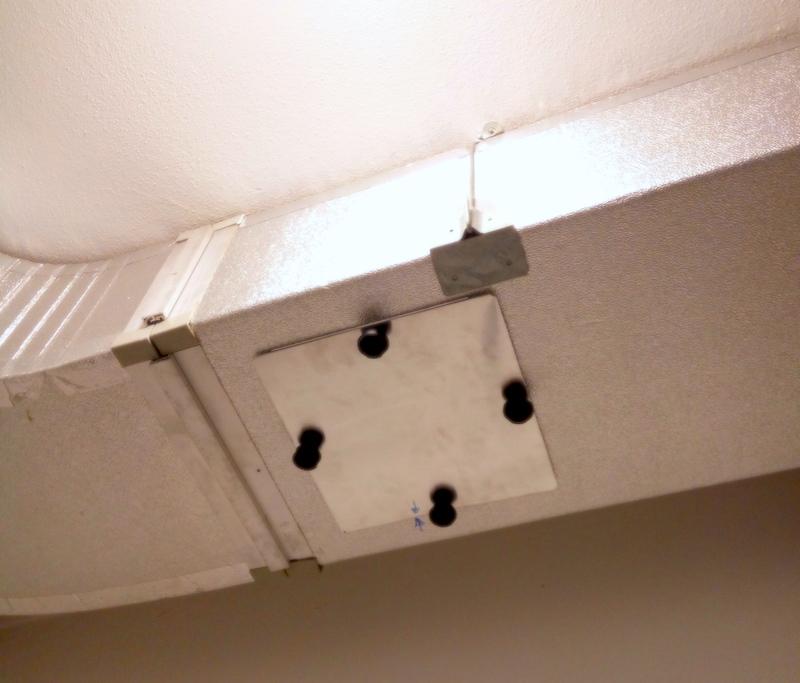 portina accesso canale o botola di ispezione canale