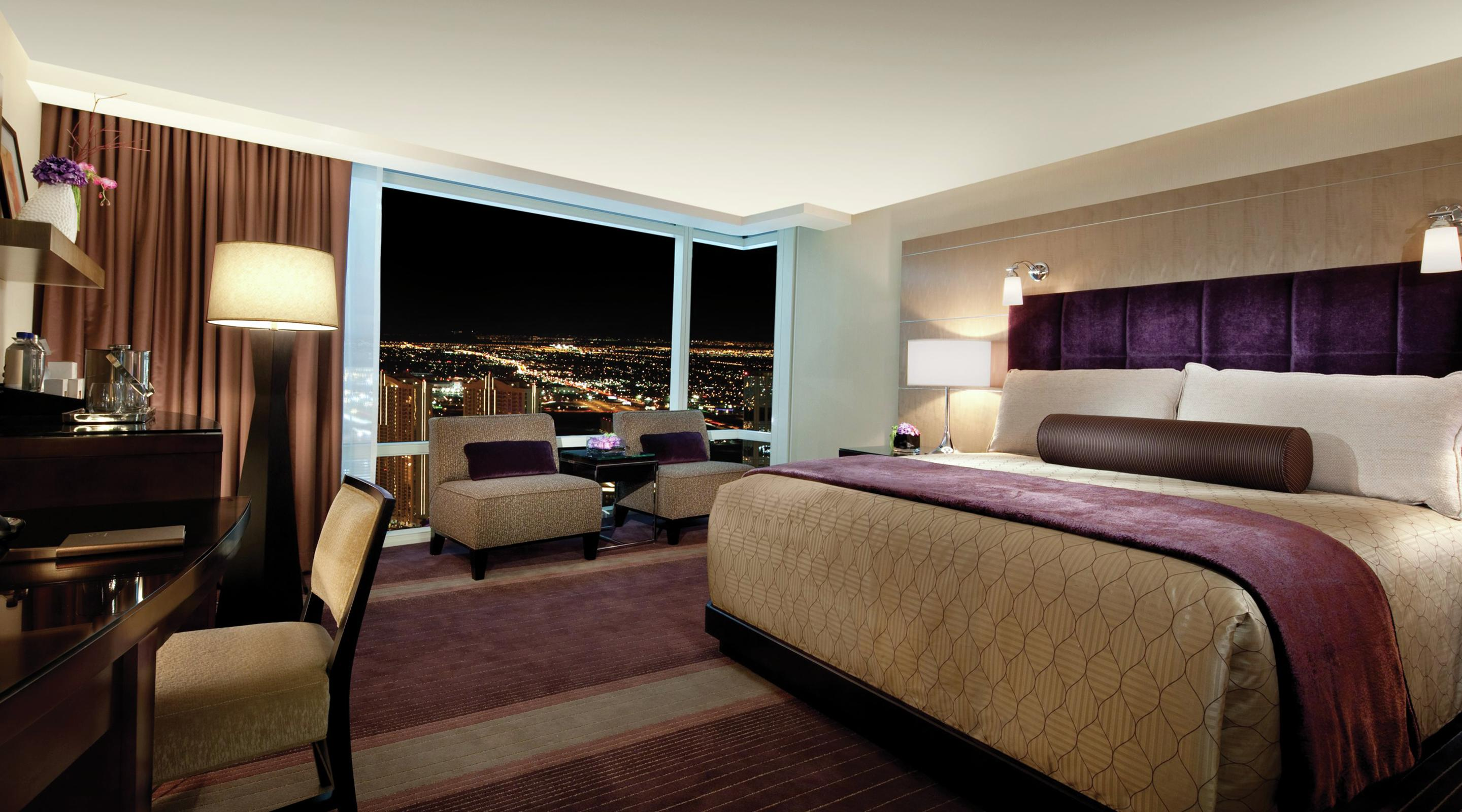 Hotel Rooms Las Vegas  Deluxe Hotel Rooms  ARIA Resort