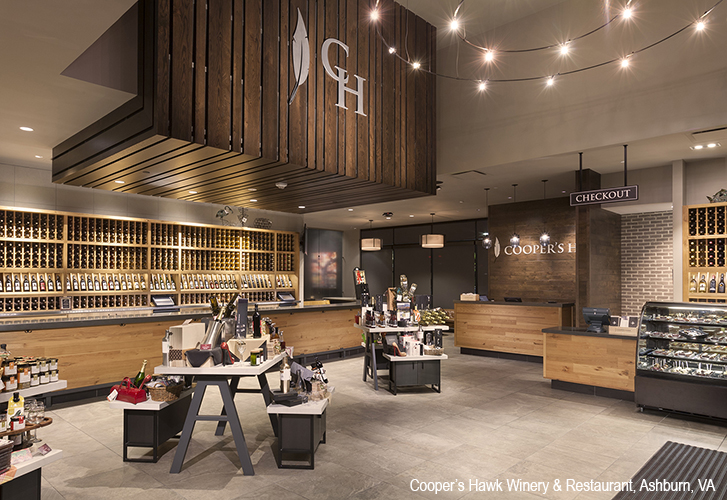 Aria Group Architects  Coopers Hawk Winery and Restaurant