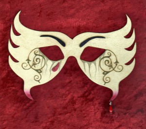 Bonded By Blood - Vampyre Mask