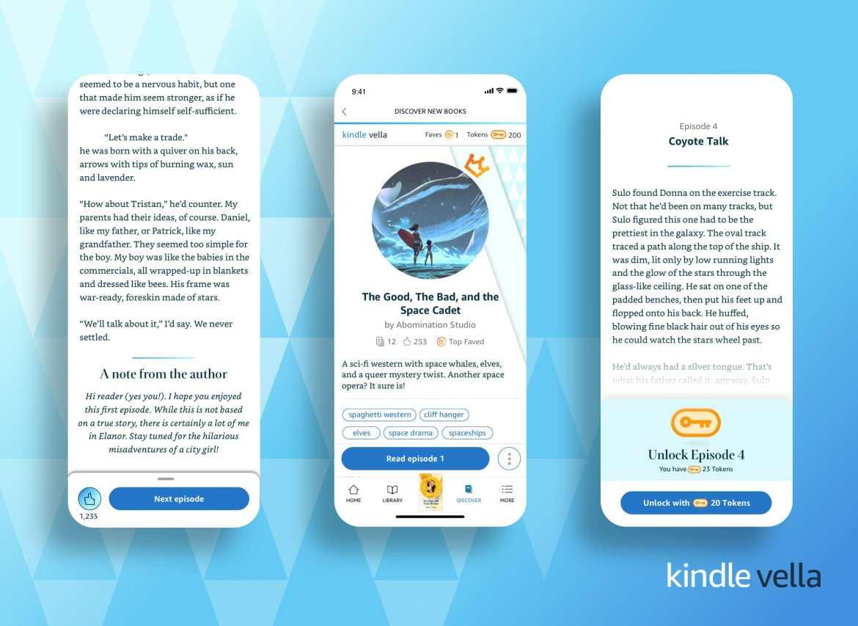 Kindle Vella Serials – Coming Soon!