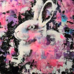 Portrait de Charlotte (lapin)