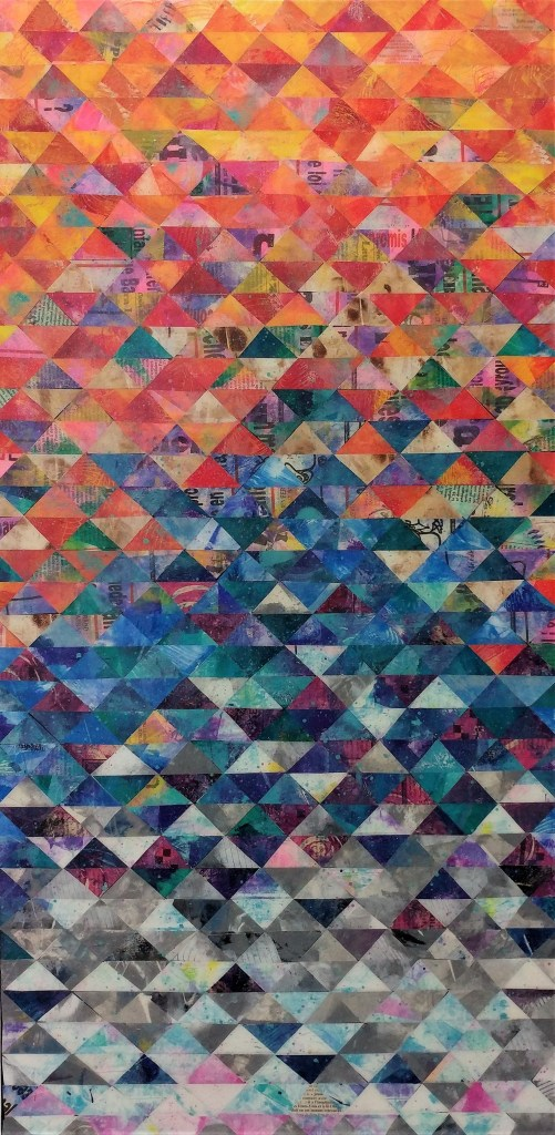 Photo d'une composition géométrique