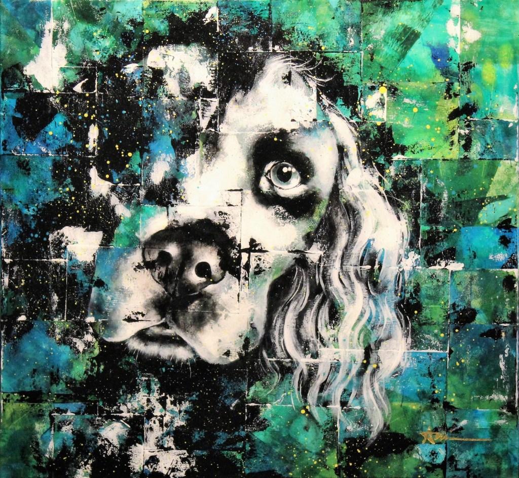Portrait de Billy le chien