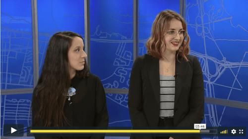 Marilène Lucas et Ariane Bilodeau en direct à la télévision