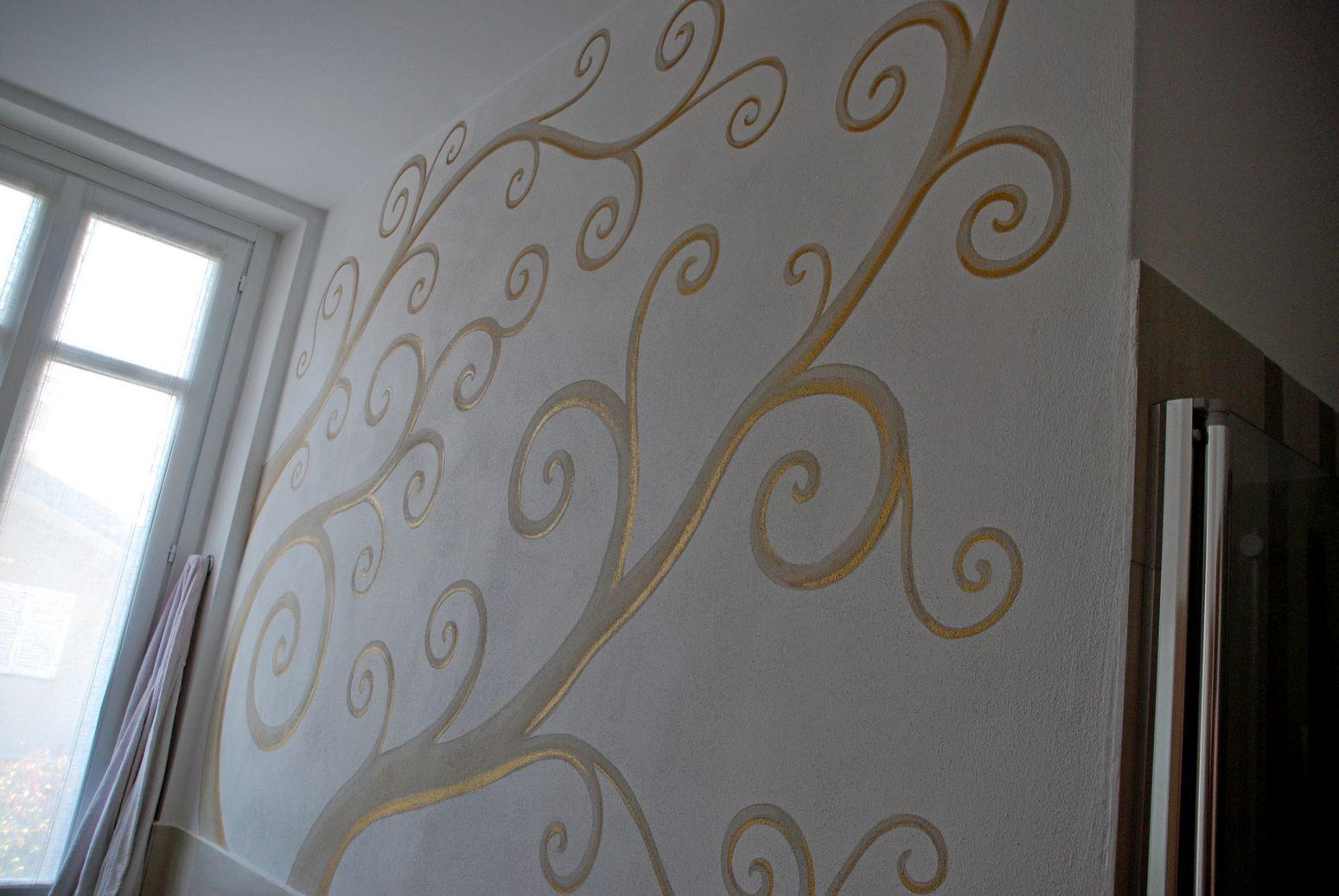 Arianna Colombo  Decorazioni restauro trompe loeil studio ambientazioni camerette