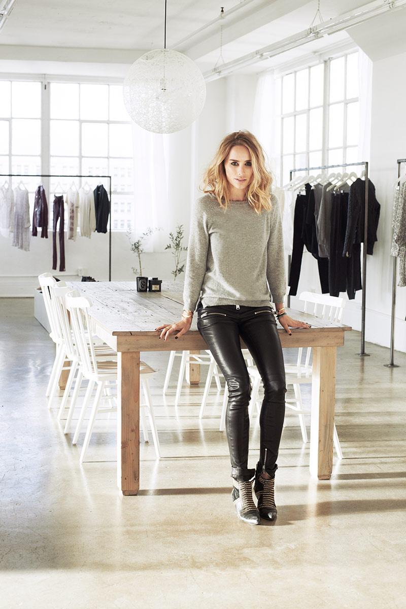 Anine Bing at her Studio Loft in LA