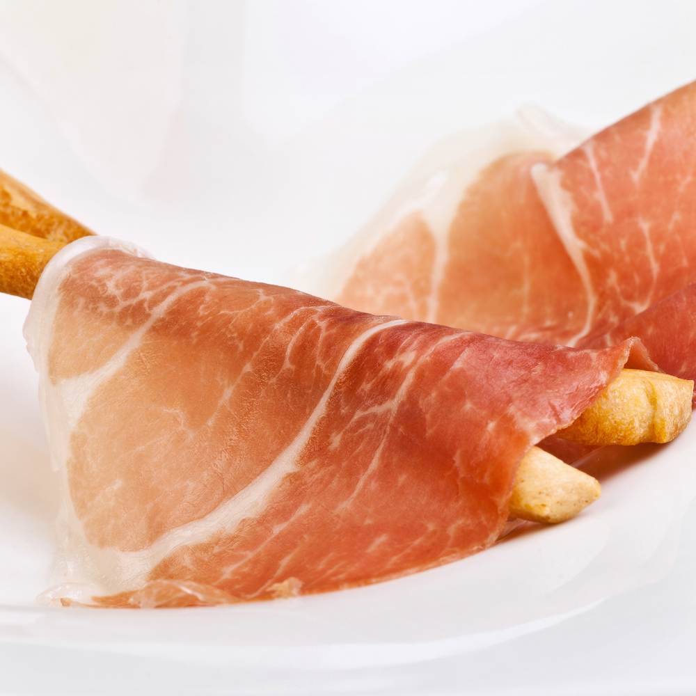 The notorious world famous Parma ham