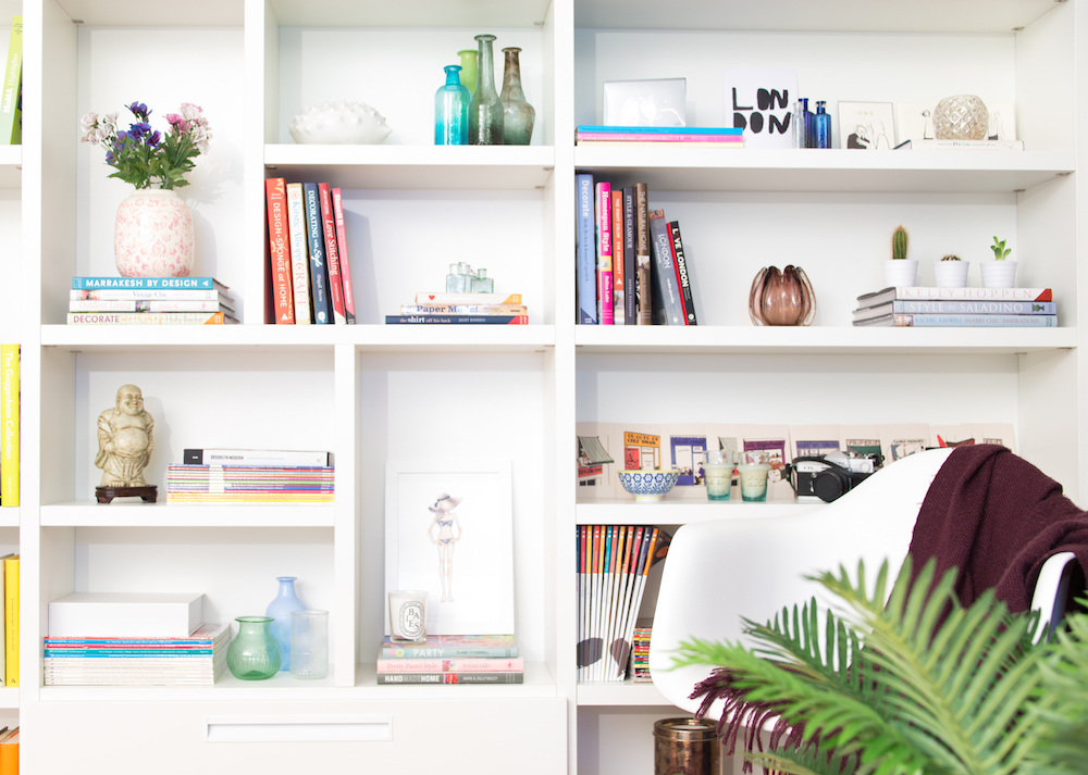 Tips On How To Style Your Shelves