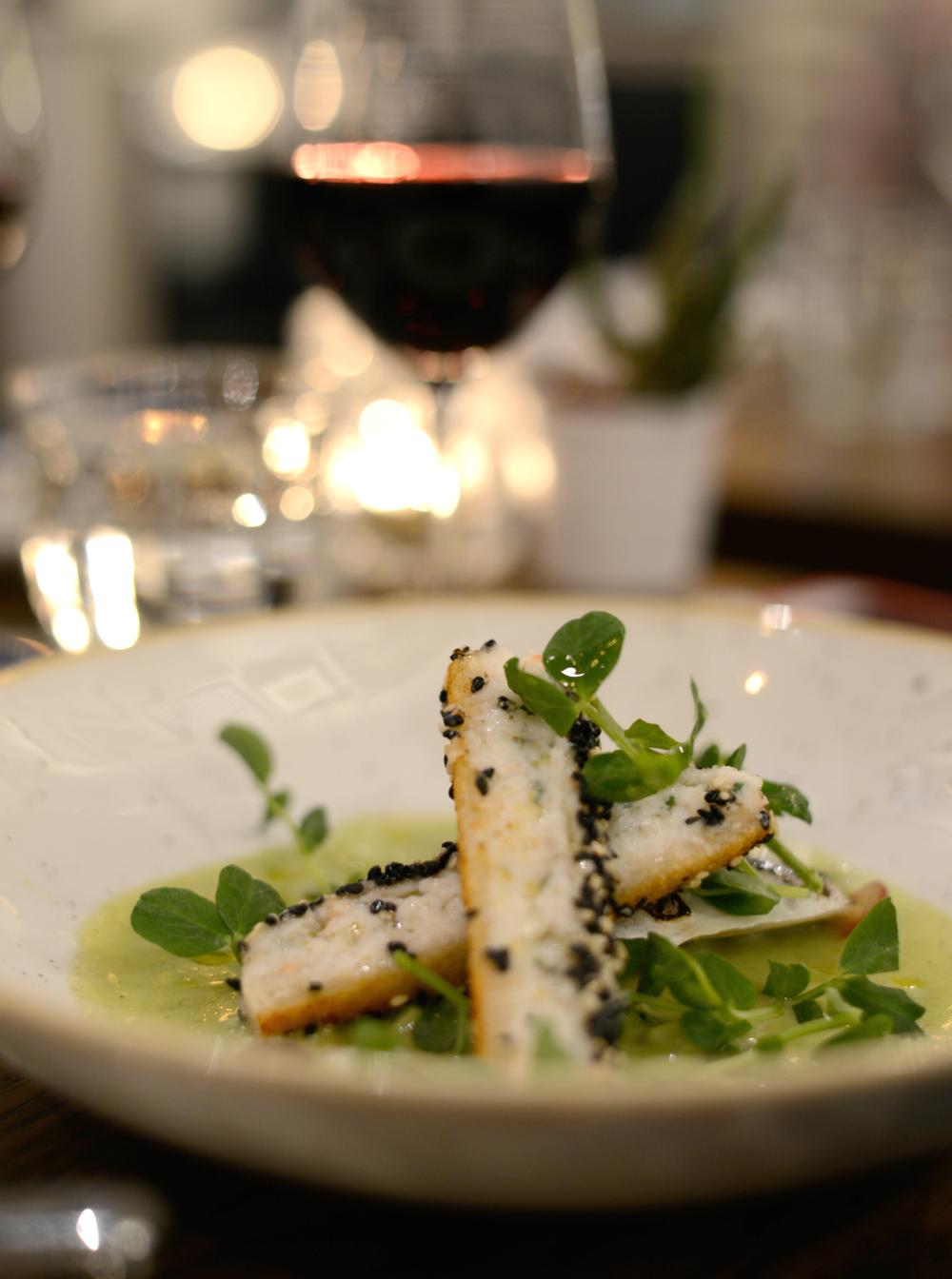 Seared Cornish mackerel at Modern & Lea