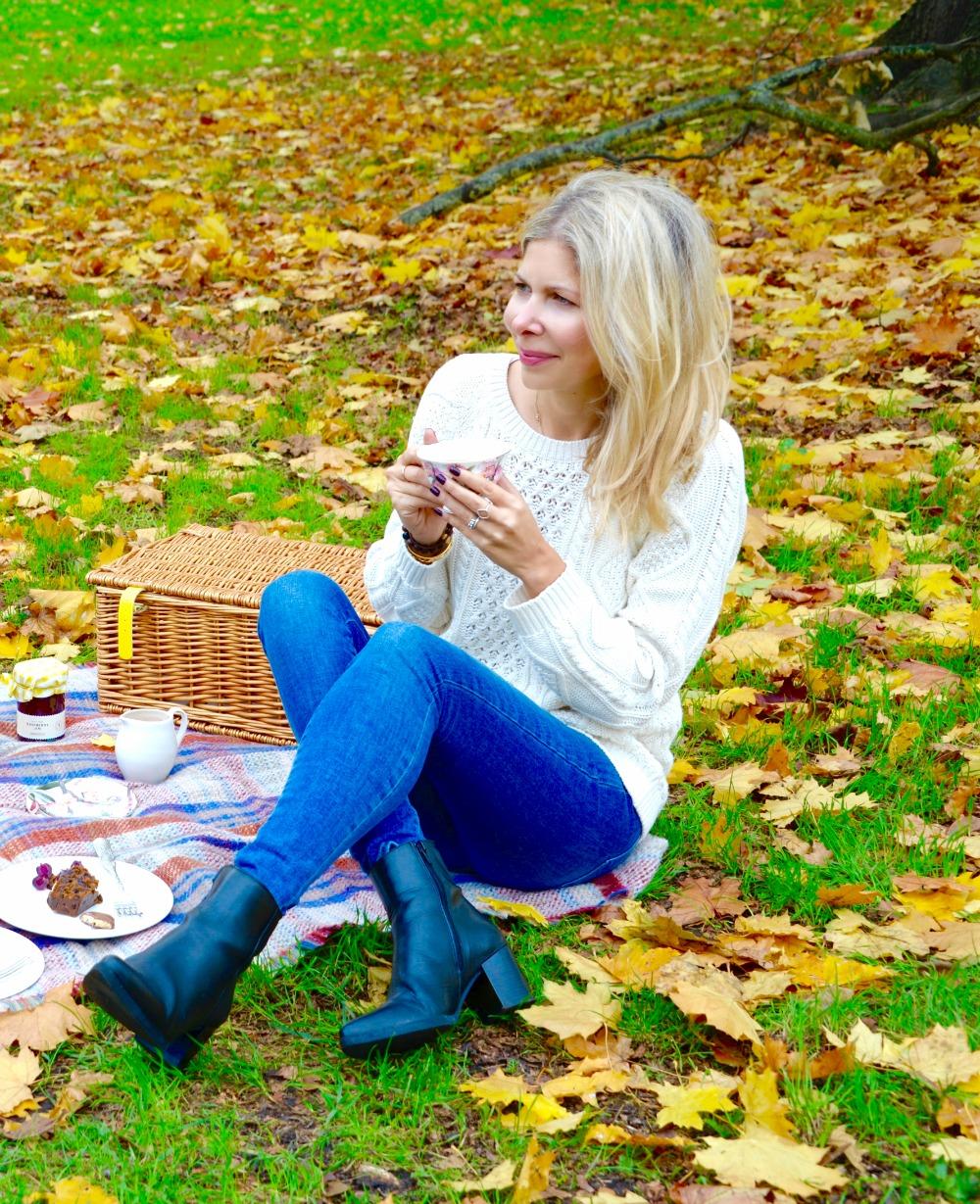 Selfridges Christmas hampers gift box - Autumn Picnics