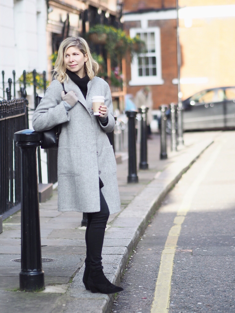 Arianna Trapani wears Eileen Fisher, London Kings Road.