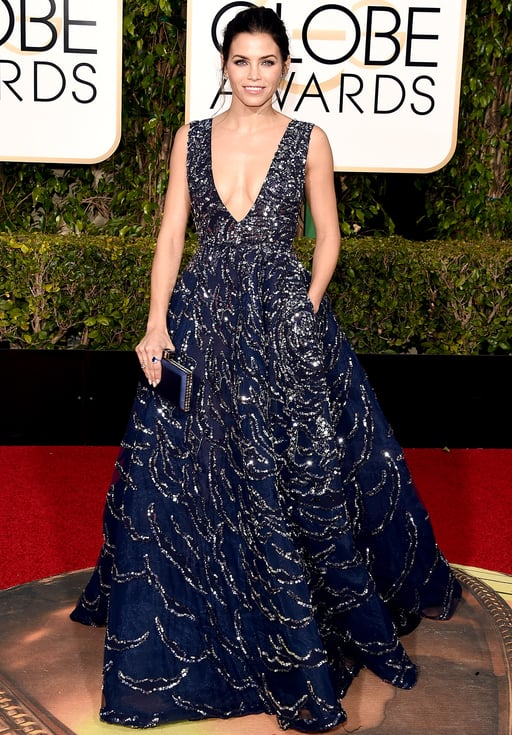 Jenna Dewn-Tatum at the Golden Globes 2016