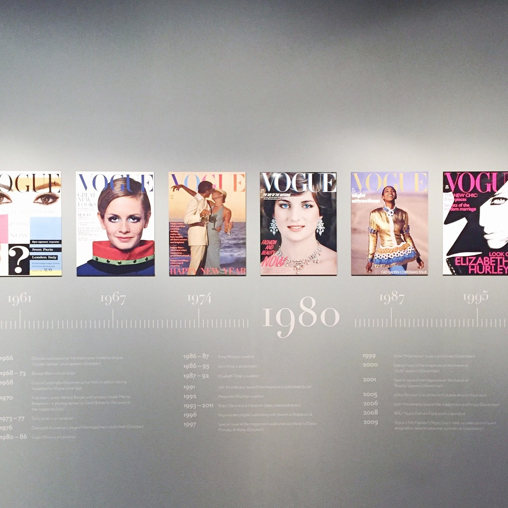 Vogue 100: A Century of Style (11 February – 22 May 2016), The National Portrait Gallery.