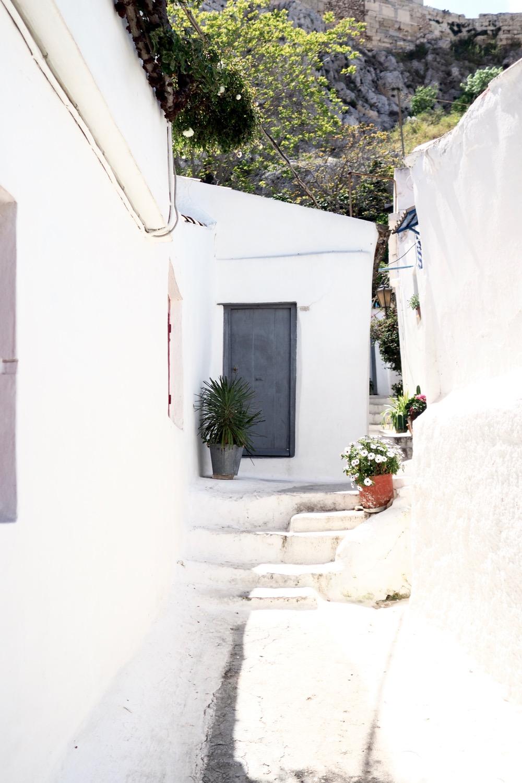 Capturing Pretty Doors in Athens, Greece