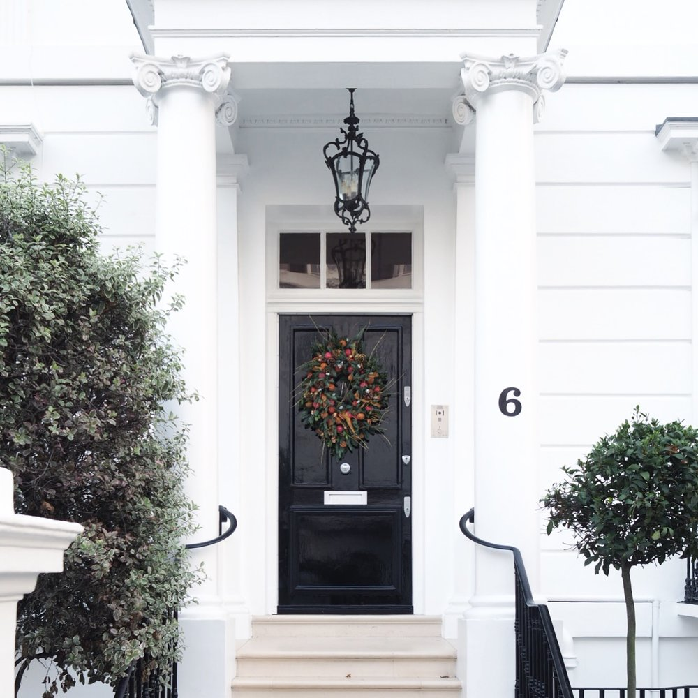 Their keys are also iconic in London \u2013 they have a key patenting service which means no Banham key can be copied without the registered homeowners approval. & Top UK Interiors Blogger London - Christmas Pretty Doors With Banham