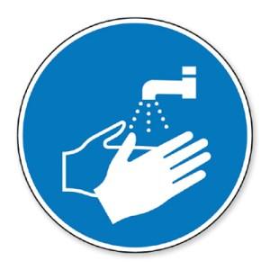 Panneau de chantier Lavage des mains