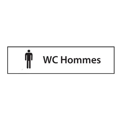 Panneau de chantier Toilette Hommes