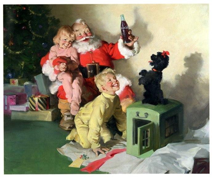 Babbo Natale, Santa Klaus, Pubblicità della Coca-Cola del 1964