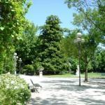 Cremona, Giardini pubblici di Piazza Roma.