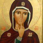 Icona di Maria del silenzio
