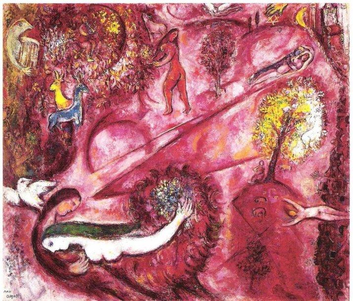 Marc Chagall, Cantico dei Cantici.
