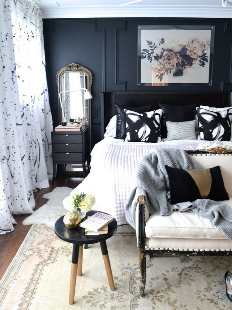 Paint Your Walls Black: 10 Bedrooms That Will Make You Want To