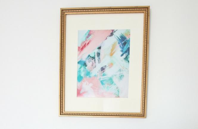 One Room Challenge - Week 6 Artwork