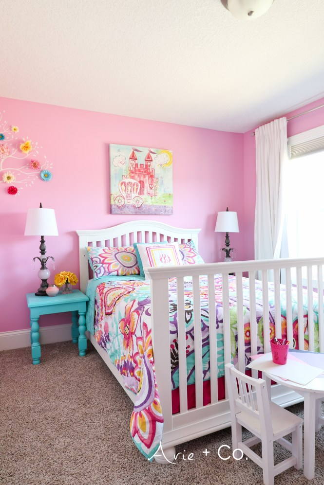 Arabella\'s Colorful Little Girl Room - Arie + Co.