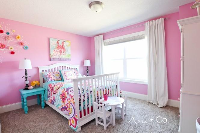 Arabella\'s Colorful Little Girl Room - Arie + Co.