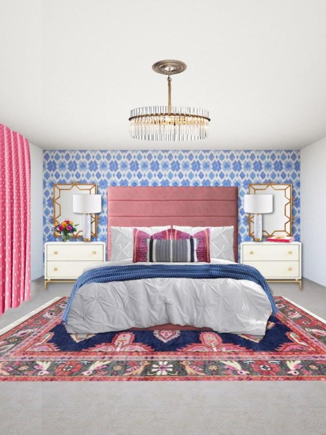 Preppy Boho Glam Bedroom Edesign Arie Co