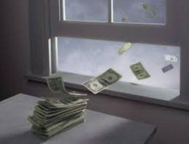 arieggiare - buttare denaro dalla finestra