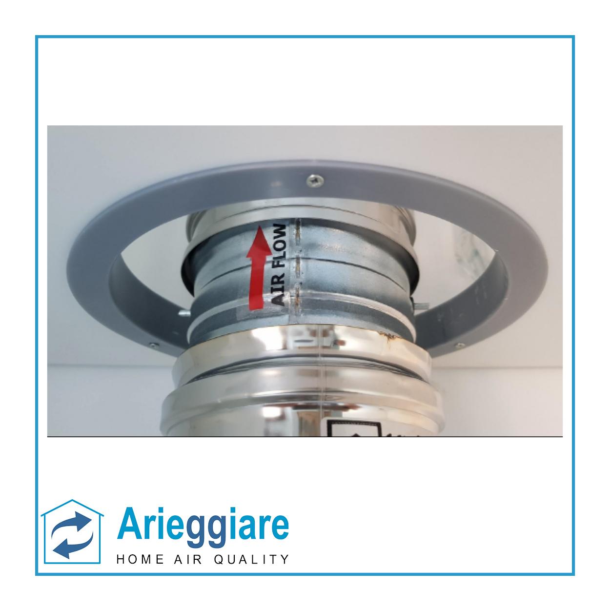 VALVOLA UNIDIREZIONALE installazione diametro 30 mm