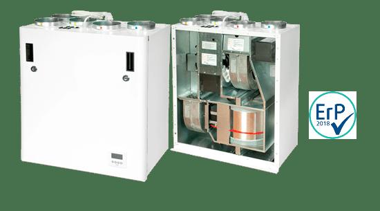 Recuperatore di calore rotativo Ensy mod. AHU 300 B