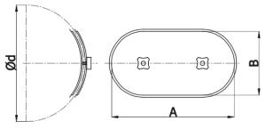 Dimensionale BLC - Portina d'ispezione