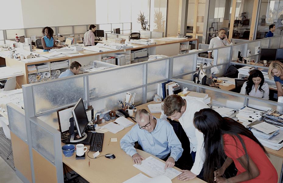 uffici open space e qualità aria