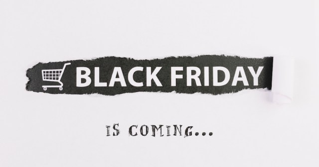 black friday iscoming