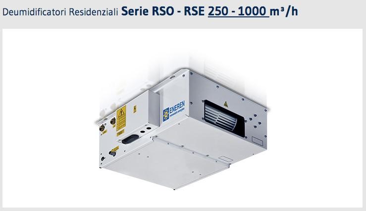 DEUMIDIFICATORE RSO-RSE020 ENEREN