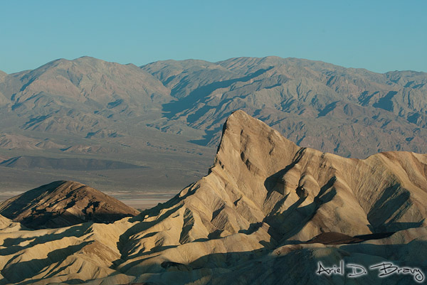 Zabrinskie Point at sunrise