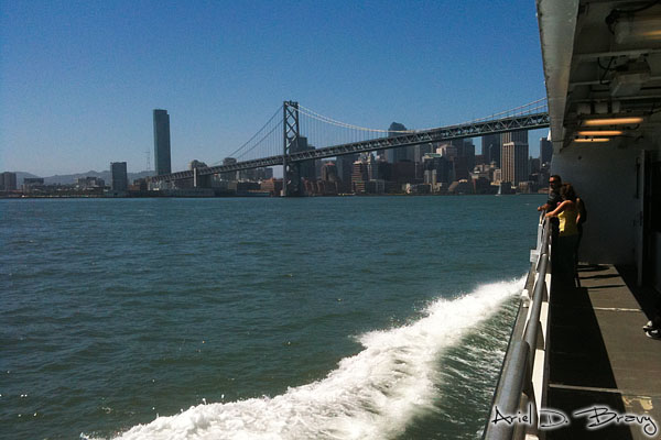 San Francisco from the Oakland-Alameda Ferry