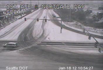 Traffic Camera - 1st Ave and Northgate