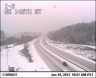 Traffic Camera - I-5 and 145th