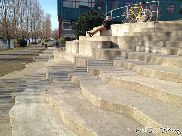 These steps remind me of the Mammoth Hot Springs Terraces in Yellowstone