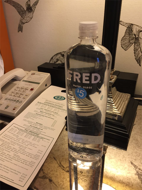 Fred the Water Bottle