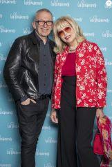 Jean-Paul Gaultier et Amanda Lear