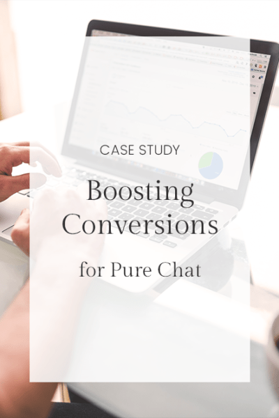 Case Study: Boosting Paid Conversions for Pure Chat