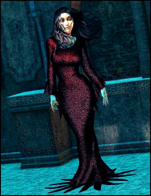 Mortella Dynamic Dress – UPDATED FOR GENESIS! | Arien
