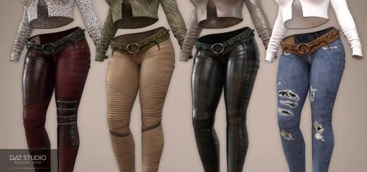 Four Texture sets for Panthera outfit