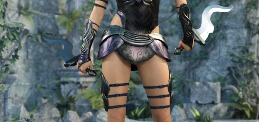 Gemini warrior outfit