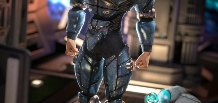 Cyber Soldier for Genesis 3 Male